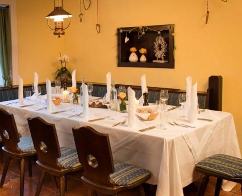 Hammerwirt in Oberalm, nahe Hallein - Unser gemütliches Restaurant